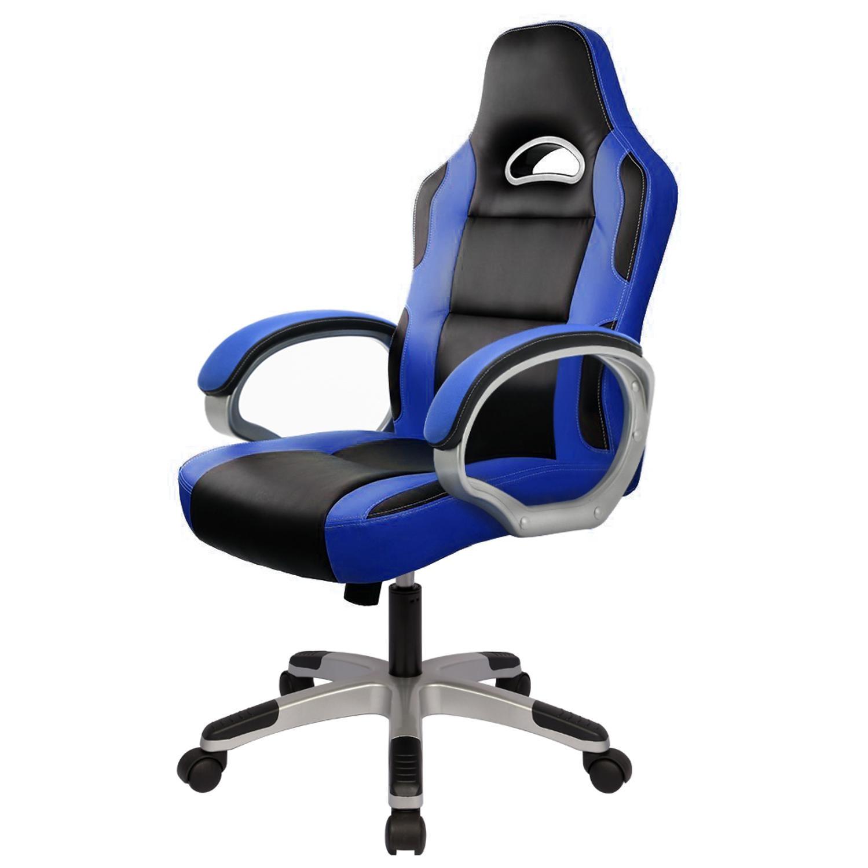 Silla de ordenador para juegos ergonómica, sillas de escritorio giratorias para jugadores adultos y niños con brazos Funda para silla con motivos jacquard Universal a prueba de agua para oficina