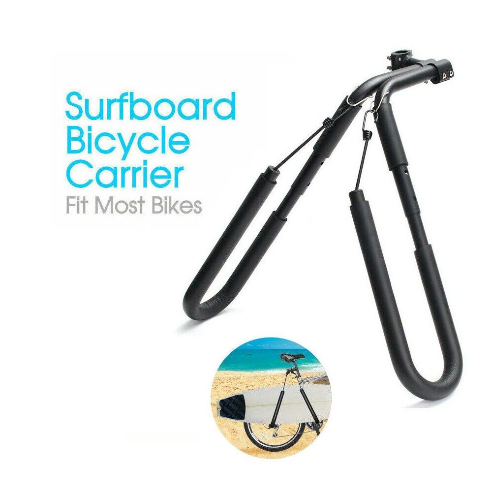 Planche de surf en plein air vélos porte-bagages planche de surf vélo-côté porte-vélo nouveau côté Kiteboard support vélo accessoires