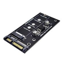 H1111Z Add On Card NGFF M.2 Adapter M2 SATA3 Raiser M.2 to SATA Adapter SSD M2 to SATA Expansion Card B Key Suppor 30/42/60/80mm