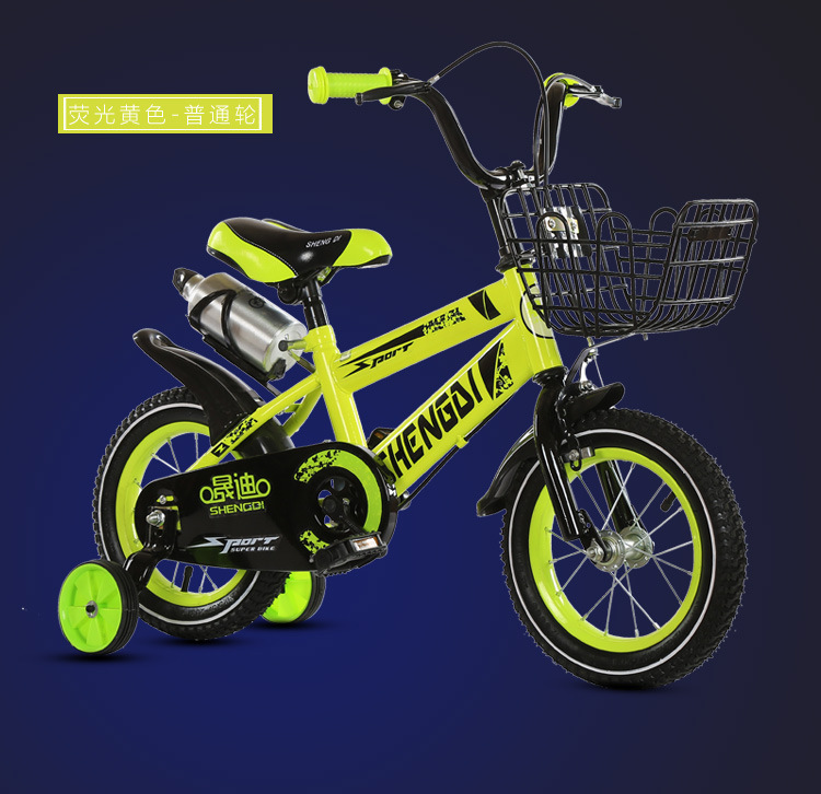 He0bcd046ba1047c28b2daa284c4b74cc5 Children's bicycle 12 inch girl baby bicycle 2-4 years old child girl baby carriage