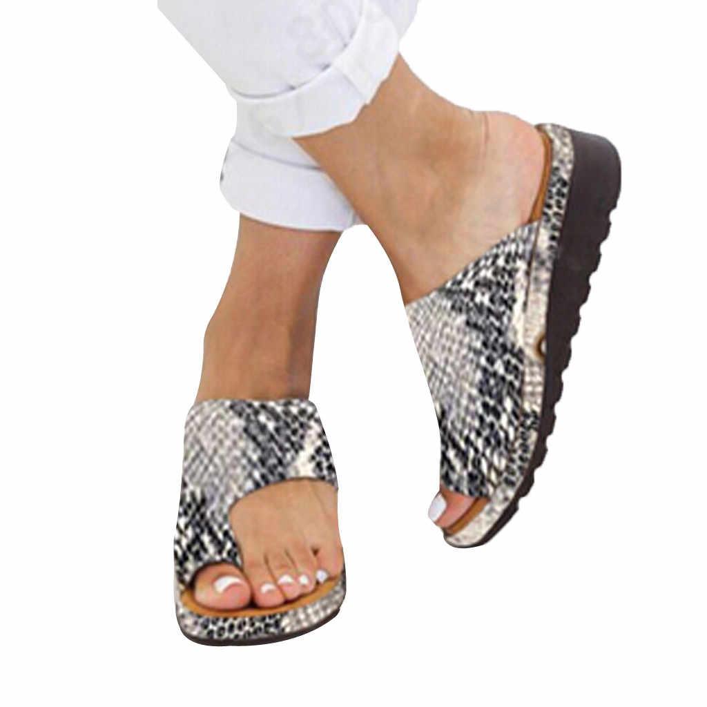 Женские летние шлепанцы; Женские босоножки на толстой подошве; Босоножки на танкетке; Летняя пляжная обувь с открытым носком; Резиновая подошва на плоской подошве