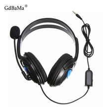 Gaming Headset For PS4 Wired Headphones With Microphone 2019 New 3.5mm Deep Bass Earphone With Mic for PS4 Sony PlayStation 4 PC