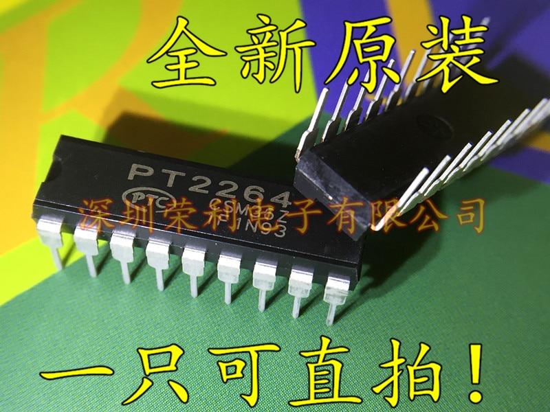 10Pcs PT2262 2262 DIP-18 Remote Control Encoder PTC IC NEW