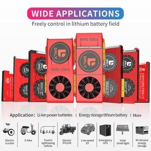 Image 5 - 15S BMS LiFePo4 48V 80A 100A 120A 150A 500A 18650 PCMบอร์ดป้องกันแบตเตอรี่BMSด้วยBalancedแบตเตอรี่ลิเธียมแบตเตอรี่โมดูลพัดลม