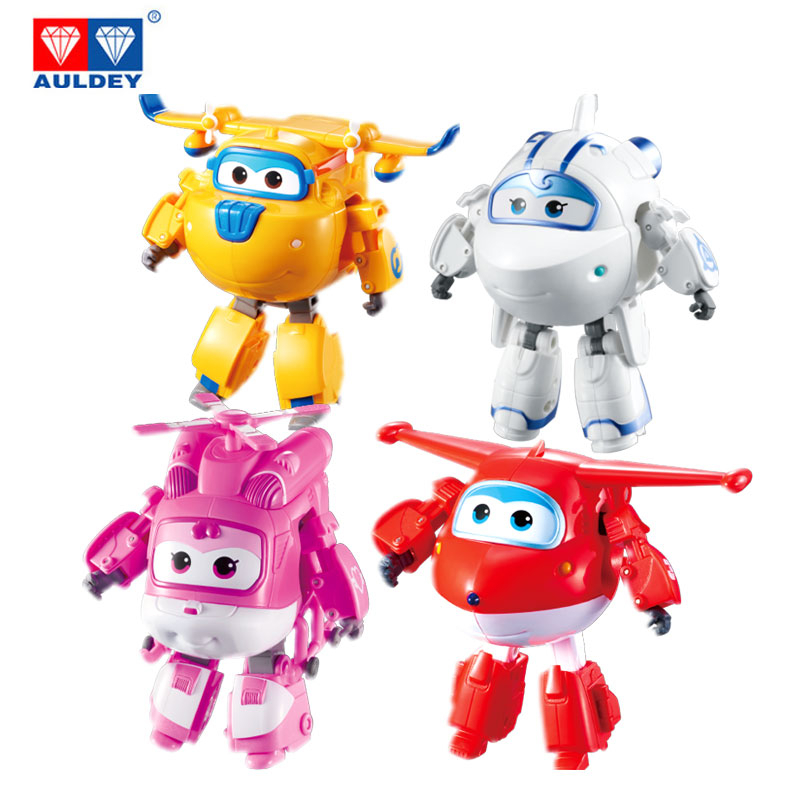 2020 New Big Super Wings Drop shipping Airplane Robot Action Figures Transformer Toys for children gift Christmas gifts