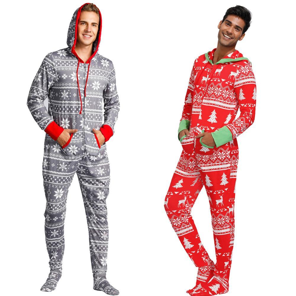 Zexxxy Women Christmas Pajama Sets with Snowflake Renideer Print Pants ZE0124