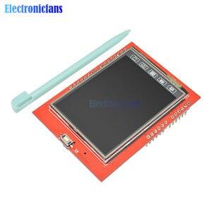 Image 3 - 2.4 אינץ TFT LCD מגע מסך חומת לarduino UNO R3 Mega2560 LCD מודול 18 bit 262,000 גוונים שונים תצוגת לוח מודול