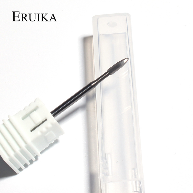 1pcs Tungsten Carbide Burr Nail Milling Cutter for Manicure Machine Carbide Drill Bits Electric Nail Files Accessories Tools 1