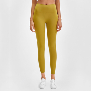 Image 3 - Buttery Soft Naked Feeling High Waist Tight Running Fitness Yoga Sport Pants 4 way Stretch Workout Gym Leggings