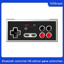 8bitdo N30 kontroler Bluetooth NS wersja Gamepad do przełącznika gry Online wsparcie Turbo