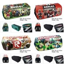 1 PCS Minecraft pencil case Eva pen childrens gift multi-function bag large capacity school supplies stationery