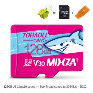 Image 4 - MIXZA HY بطاقة الذاكرة 256GB 128GB 64GB U3 80 برميل/الثانية 32GB بطاقة مايكرو sd Class10 UHS 1 بطاقة ذاكرة فلاش ميكروسد تف/سد بطاقات
