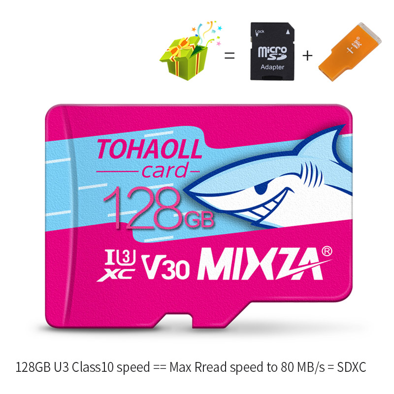 Image 4 - MIXZA HY Memory Card 256GB 128GB 64GB U3 80MB/S 32GB Micro sd card Class10 UHS 1 flash card Memory Microsd TF/SD Cards-in Memory Cards from Computer & Office