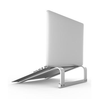 Aluminium Alloy 11-17 Inch Universal Laptop Stand Adjustable Angle Notebook Rack Non Slip Desktop Holder for Macbook Air - discount item  17% OFF Desk Accessories & Organizer