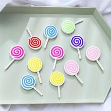 Милые Разноцветные Подвески в виде леденцов подвески для украшения