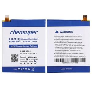 Image 5 - chensuper 4800mAh C11P1601 Battery For ASUS ZENFONE 3 Battery ZENFONE3 ZE520KL Z017DA For ZenFone live ZB501KL A007 Batteries