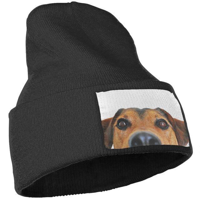 Fashion Cute Dog Patterned Beanie