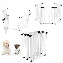 Puppy Indoor Safety Gate Foldable Fences Safety Material Fence Baby Protective Fence Pet Training Gate Pet Home Accessories HWC