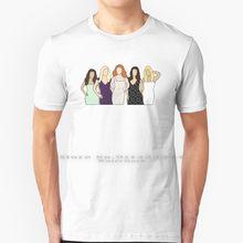 Desperate Housewives T Shirt % 100% saf pamuk Desperate Housewives Edie Britt Eddie Britt Nicollette Sheridan Bree Van De Kamp Kamp
