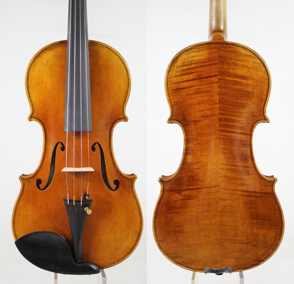 Copia di Giuseppe Guarneri Del Gesu 1743 Cannone 4/4 violino Ricco chiaro! Risposta veloce! Il caso libero, arco, e trasporto libero!