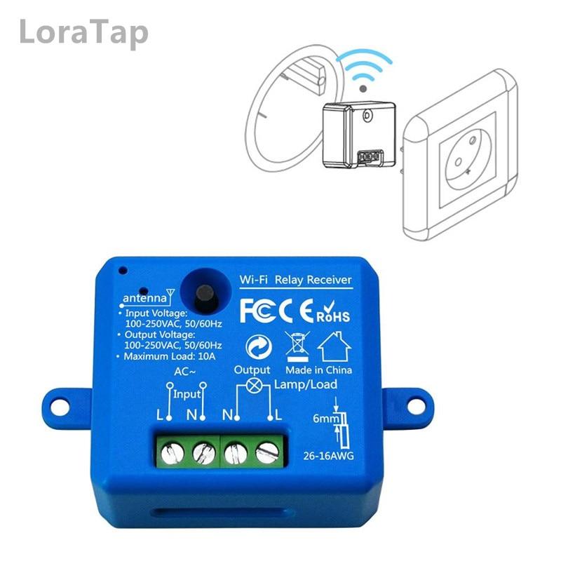 Smart Light 2 gang 2 voies Compatible avec Alexa Echo Google Home Module interrupteur Wi-Fi DIY Smart Life // Tuya App t/él/écommande