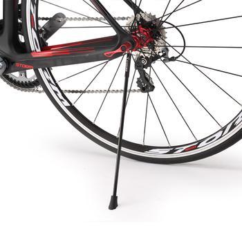 CORKI Carbon Bike Kickstand Sidestay pasuje do 26 700c stojaki rowerowe Kick stojaki rowerowe MTB szosowe stojaki Quick Release tanie i dobre opinie Corki 68