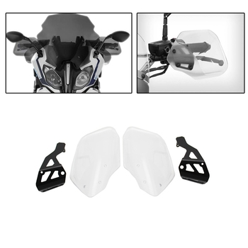 Handlebar Handguards Hand Protector Brake Clutch Protector Covers for BMW R1200RS R1250RS R1250RT Motorcycle Accessories Transpa