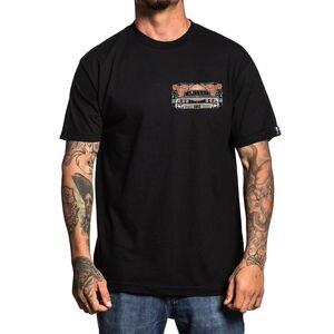Мужская футболка с длинным рукавом Sullen, черная футболка с надписью «Virgin Mary», модная повседневная футболка унисекс