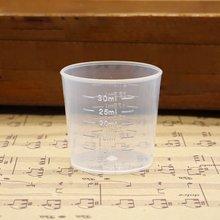 Многоразовый портативный размер мерный чашка кувшин градуированный поверхность контейнер кухня инструмент мерные кувшины инструменты