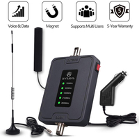 2G 3G 4G LTE Mobile Cell Phone Signal Booster 700/900/1800/2100/2600MHz for Australia Car Use Band28/8/3/1/7 RV Repeater Antenna