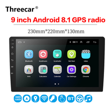 9 inch Android 8.1 universal Car Radio 2 din android car radio DVD Player GPS NAVIGATION WIFI Bluetooth MP5
