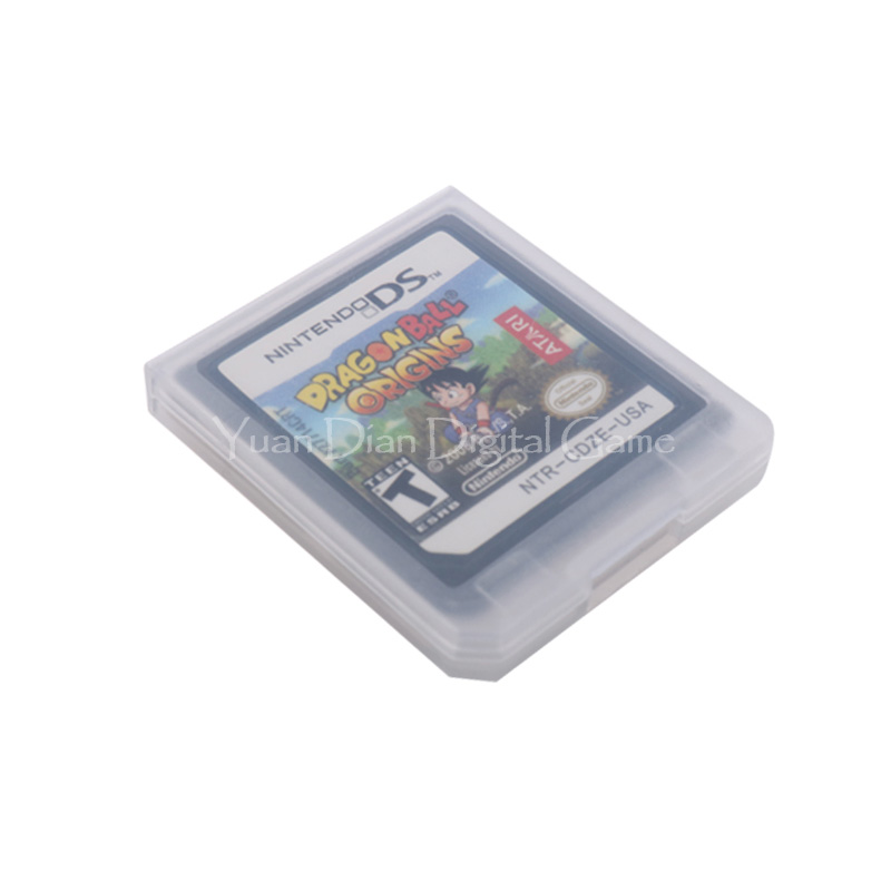 For Nintendo DS 2DS 3DS Video Game Cartridge Console Card Dragon Ball Origins English Language US Version