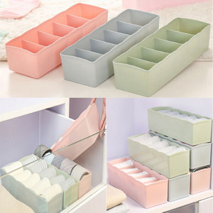 Small Size Underwear Scarves Socks Clothes Drawer Closet Organizer Organizers Boxes Home Decoration Storage Box For Kids Girls