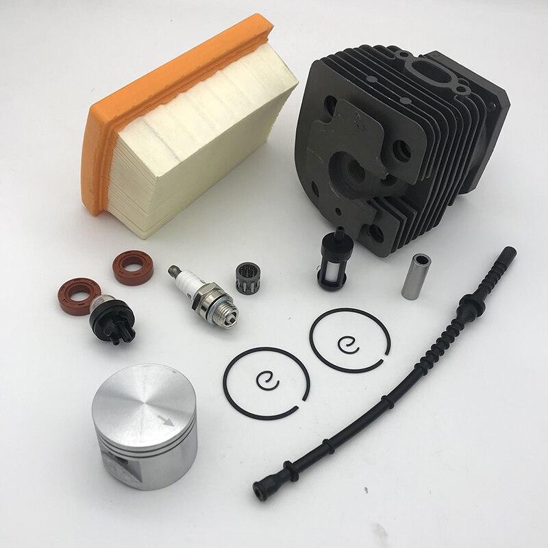Tools : 42mm Cylinder Piston Kit Fit For Stihl FS450 FS 450 Trimmer Air Fuel Filter Line Oil Seal Primer Bulb Spark Plug 4128 020 1211