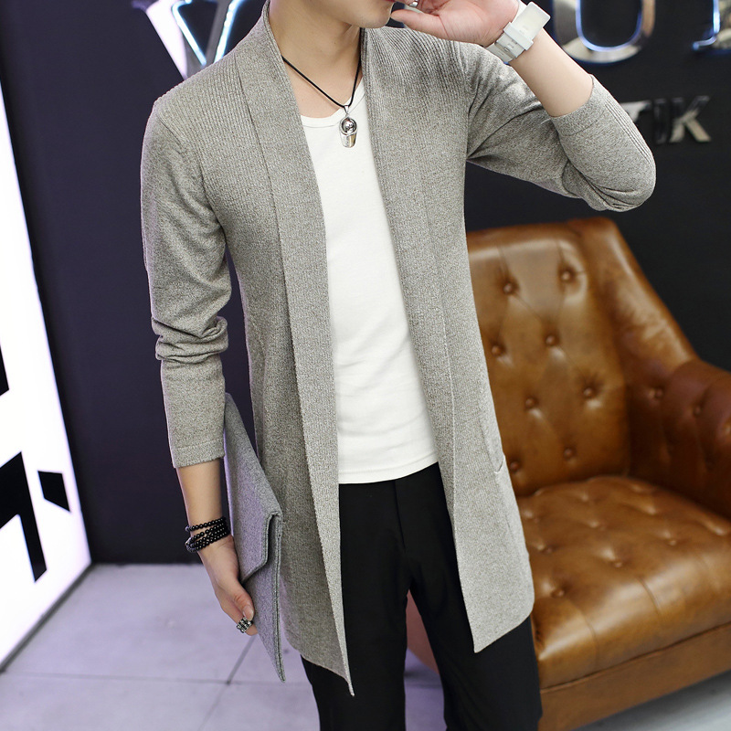 New Arrival Men's Sweater Autumn Fashion Male Cardigan Long Sleeve Sweaters Casual Korean Style Hooded Cardigans Hombre