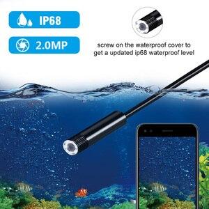 Image 3 - Endoskop kamera kablosuz endoskop 2.0 MP HD Borescope sert yılan kablosu için IOS iPhone Android Samsung akıllı telefon PC