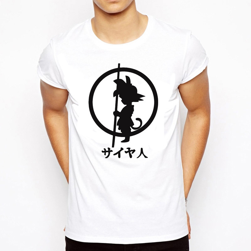 90S t-shirt Dragon Ball Z harajuku t-shirt SON GOKU surdimensionné hommes vêtements t-shirt végéta graphique Streetwear Vintage Anime Hip Hop image