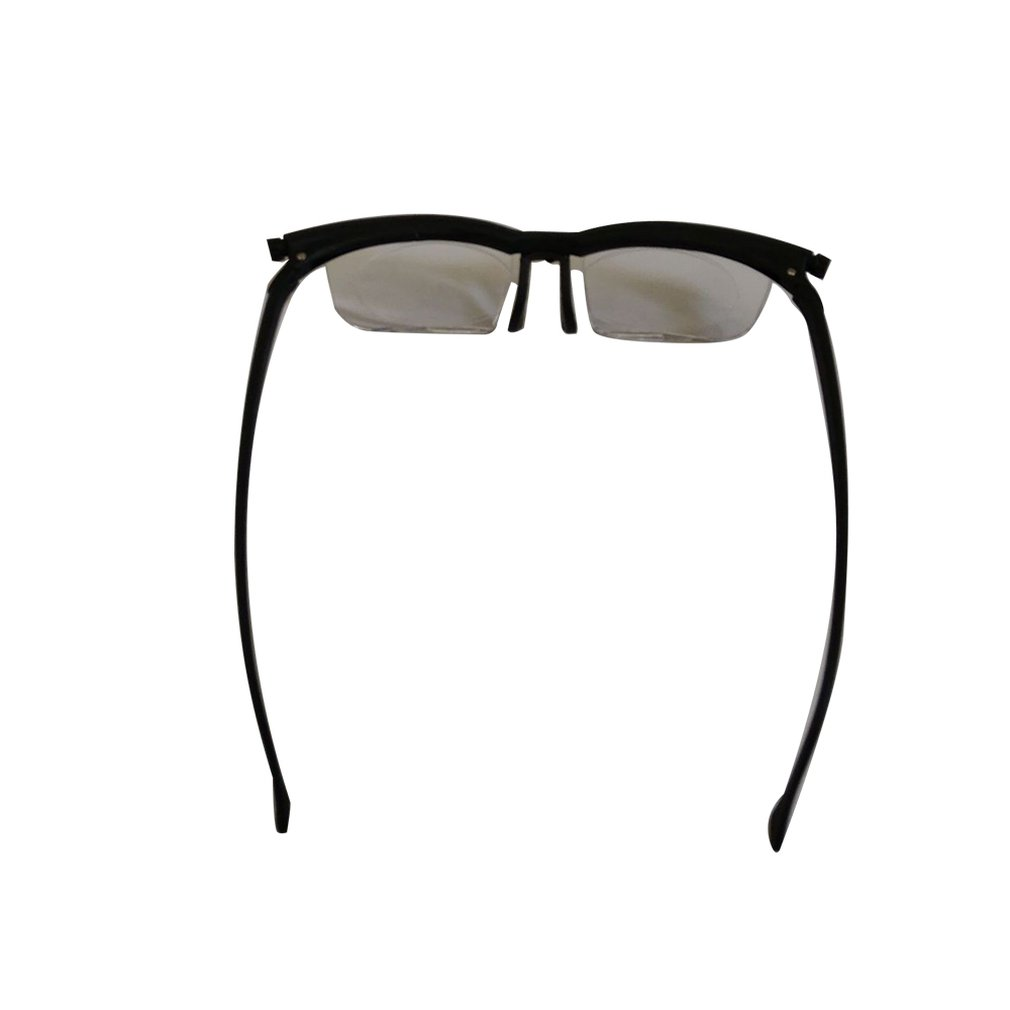 Gafas de Material para miopía, lentes de corrección de distancia Focal Universal de grado ajustable, para presbicia de miopía, medio Marco, AP + PC