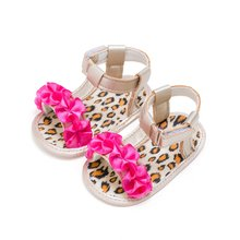 Kids Summer Girls Fashion Splice Color Breathable Flower Anti-skid Casual Baby Cack Sandal(China)