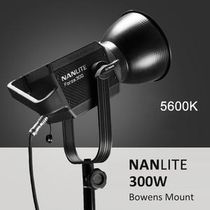 Image 1 - NANLITE Forza 60W 300W Photography light Outdoor 5600K LED Monolight COB Light with bowens mount Studio Flash Strobe Light