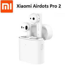 Oringinal Xiaomi Airdots Pro 2 Air 2 TWS Drahtlose Kopfhörer Mi Wahre Ohrhörer 2 LHDC Tap Stereo Control Dual MIC ENC Mic Freisprecheinrichtung