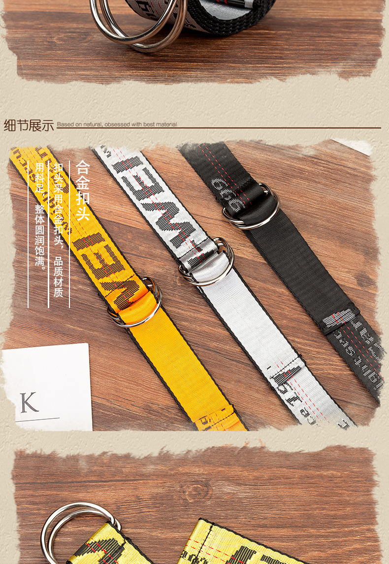 He0c25ed020144b019a083fd44ed0bb42s - Belts Women Fashion Personality Letter KINGSIZE Belts European and American Style High Quality Canvas Belt Big Size Belts