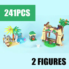10662 princess Moana Island Adventure Lepin Building Blocks Bricks Boy Girl Toys Children compatiable with lego kid gift set недорго, оригинальная цена