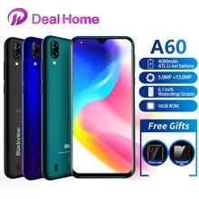 """Blackview A60 6.1 """"1: 1GB RAM 16GB ROM Smartphone 4080mAh batteria 13MP fotocamera posteriore MT6580 Quad Core Android 8.1 telefono cellulare"""