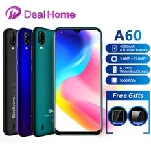 """Blackview A60 6.1 """"19:9 1GB RAM 16GB ROM Smartphone 4080mAh batterie 13MP arrière caméra MT6580 Quad Core Android 8.1 téléphone portable"""