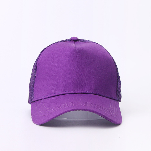New Baseball Caps Mesh Spring Summer Outdoor Sprot Hat With Ponytail Hole Breathable Snapback Adjustable Caps For Men And Women 10