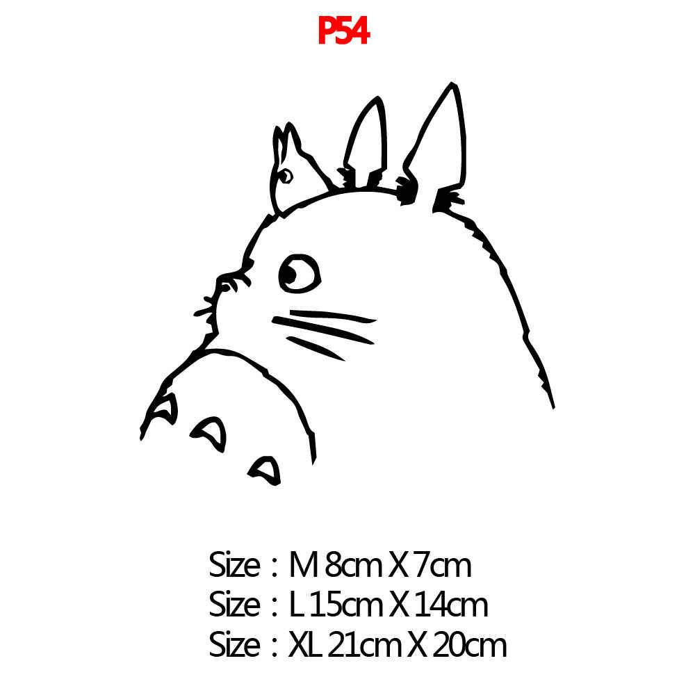 น่ารัก Totoro สติกเกอร์แล็ปท็อป Vynil สำหรับแล็ปท็อป Lenovo/Xiaomi/HP/Asus แล็ปท็อปตกแต่งผิว