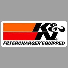 O k & n filtercharger é equipado com um original 1980racing s que compete a fonte automotivo da etiqueta do rali do decalque