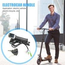 Electric Bike Throttle Shifter Thumb Throttle Grip Accelerator Accessori JQ