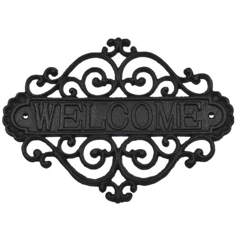 Добро Пожаловать Знак настенные таблички домашний сад открытый подвесной Декор